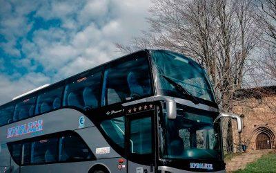 Nouveau bus à impériale