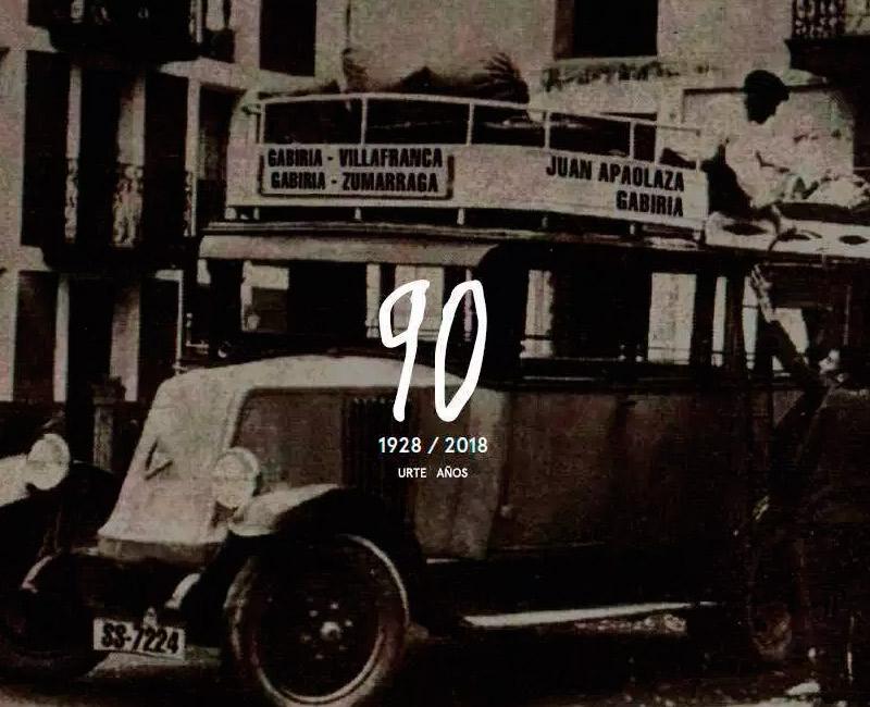 Autobuses Apaolaza cumple 90 años